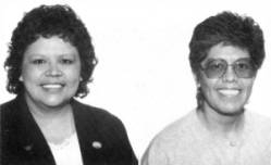 Patsy and Nadine Córdova