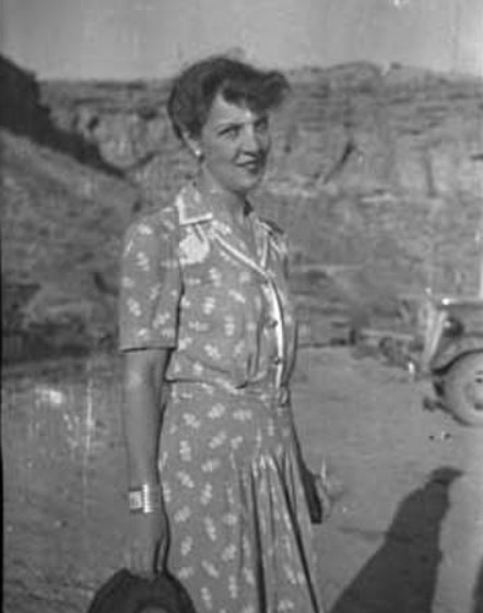 Archaeologist Florence Hawley Ellis, Chaco Canyon, New Mexico