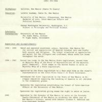 Resume of Concha Ortiz y Pino, page 1