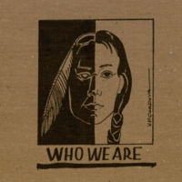 The cover of Who We Are by V.F. Cordova