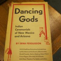 Dancing Gods by Erna Fergusson (Tony Hillerman's copy)