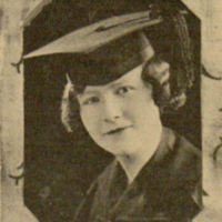 Marie Pope Wallis, Graduation Photo, UCLA, 1925