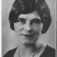 Louise Holland Coe Senior Photo, 1930
