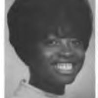 Barbara Brown graduation photo, UNM 1969