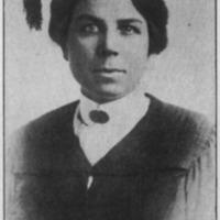 Erna Fergusson Graduation Photo, 1912