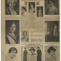 Santa Fe New Mexican Supplement on Woman Suffrage